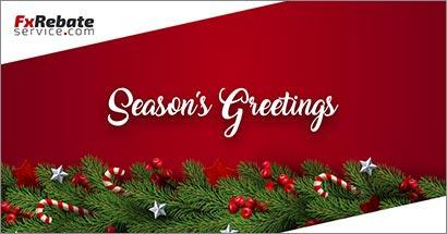 FxRebateService Season's Greetings